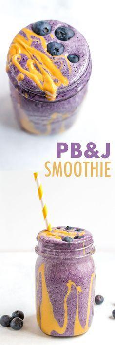 PB&J Protein Smoothie
