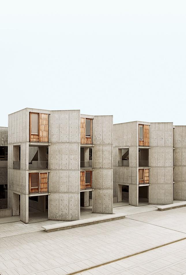 Louis Kahn's Salk Institute // San Diego: Louis Kahn, Salk Institut, Beautiful Places, La Jolla, St. Louis, Photo Shoots, Cities Guide, Modern Design, San Diego California