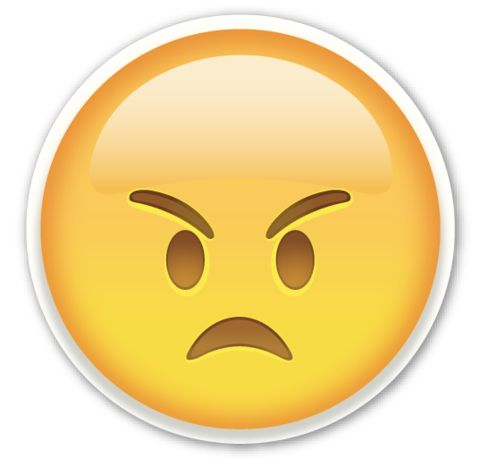 Best 25 Angry Emoji Ideas On Pinterest Angry Emoticon