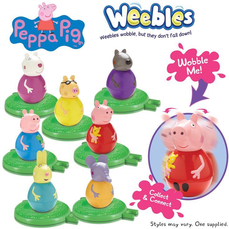 Peppa Pig Weebles - Personaggi sempre in Piedi Giochi Preziosi