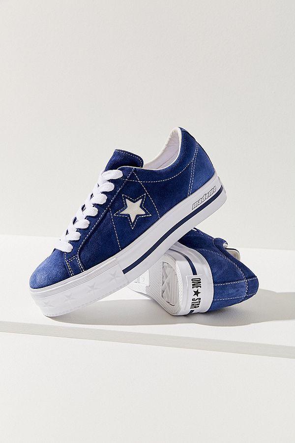Star X MadeMe Suede Platform Sneaker
