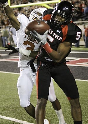 Michael Crabtree and one of the greatest moments ever in Texas Tech football history.