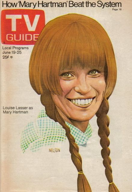 Mary Hartman Mary Hartman :)....what a dumb show....lol  Funny thing at the time (and still) had a friend named Mary Hartman.   :)