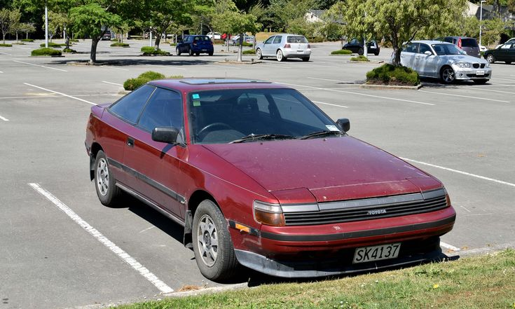https://flic.kr/p/214jiio | 1989 Toyota Celica | The Cars of Christchurch, New Zealand