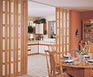 Folding door for you home