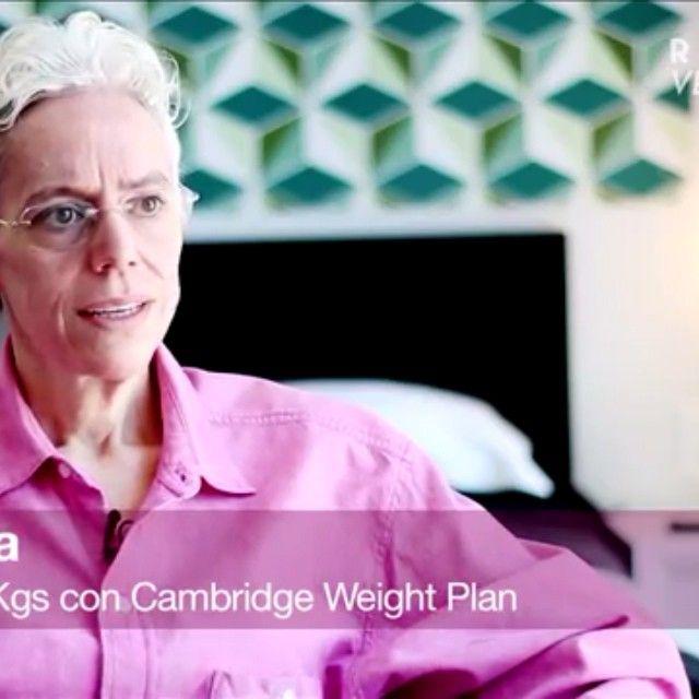 Les comparto un pedacito de la historia de éxito de Martha, ella bajó 86 kg en 14 meses con la dieta