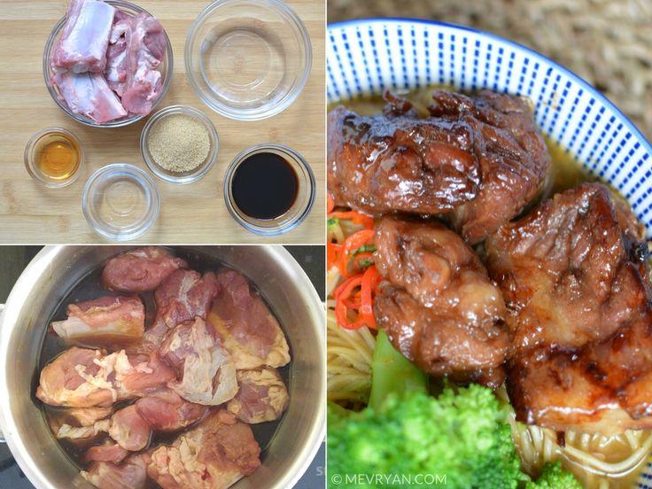 Hoe maak je zoetzure spareribs? Chinees recept vind je op food blog mevryan.com  #Chinese #recepten #koken #spareribs #vlees #varkensvlees #Aziatisch #keuken