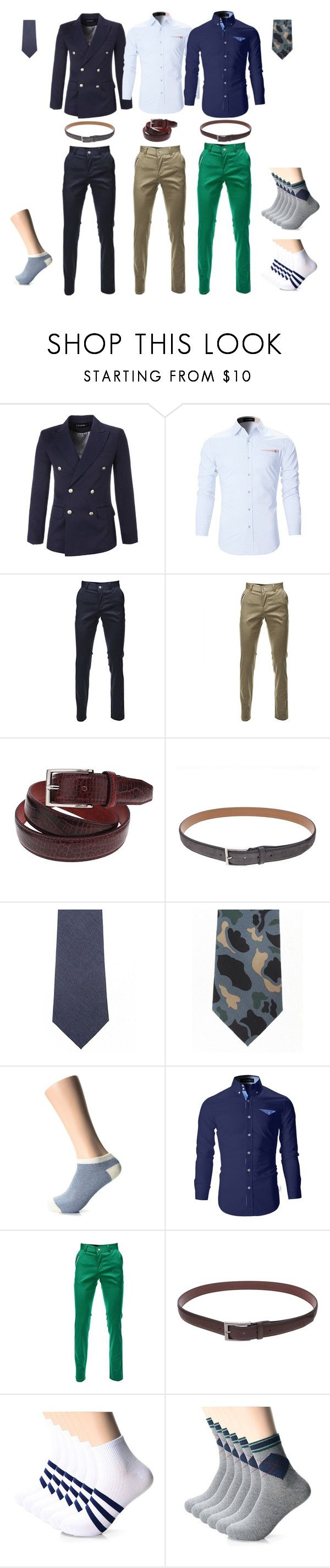 """""""#FLATSEVEN Men's Fashion"""" by flatseven on Polyvore featuring men's fashion and menswear"""