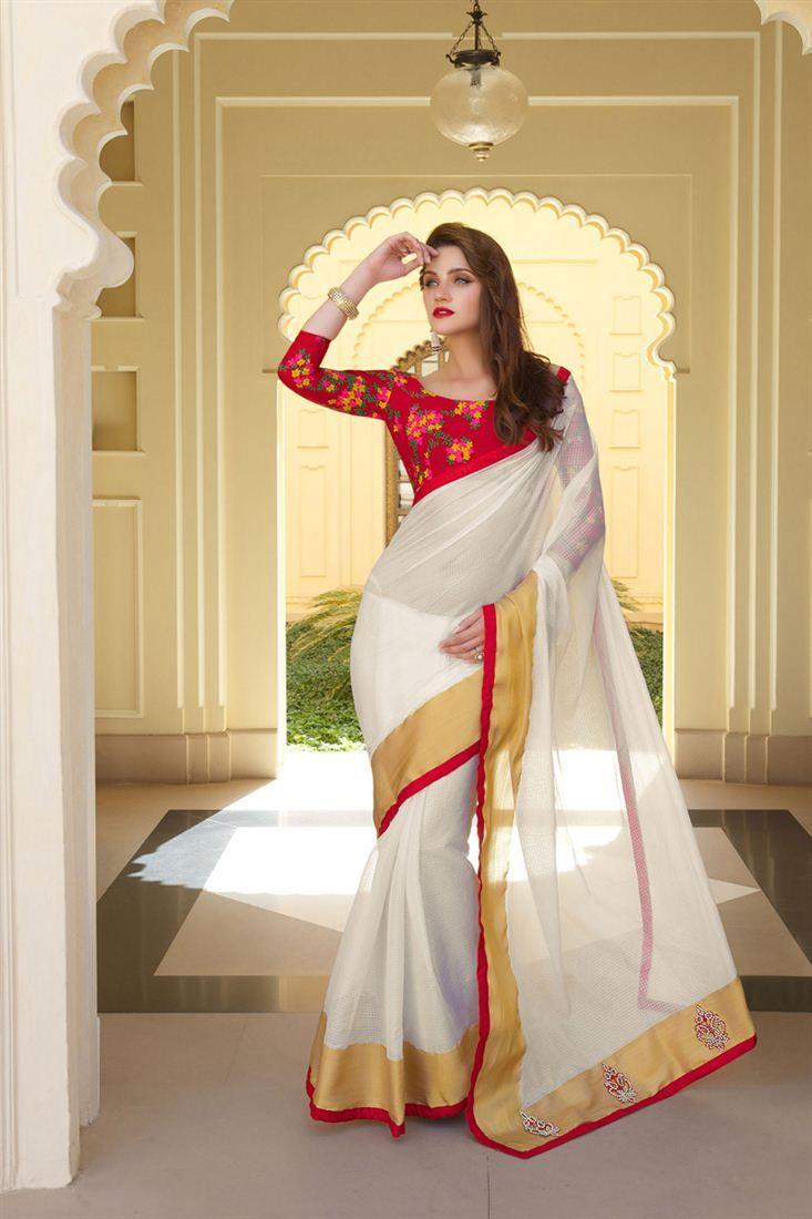 Marvelous Designer Party Wear Art Silk Saree