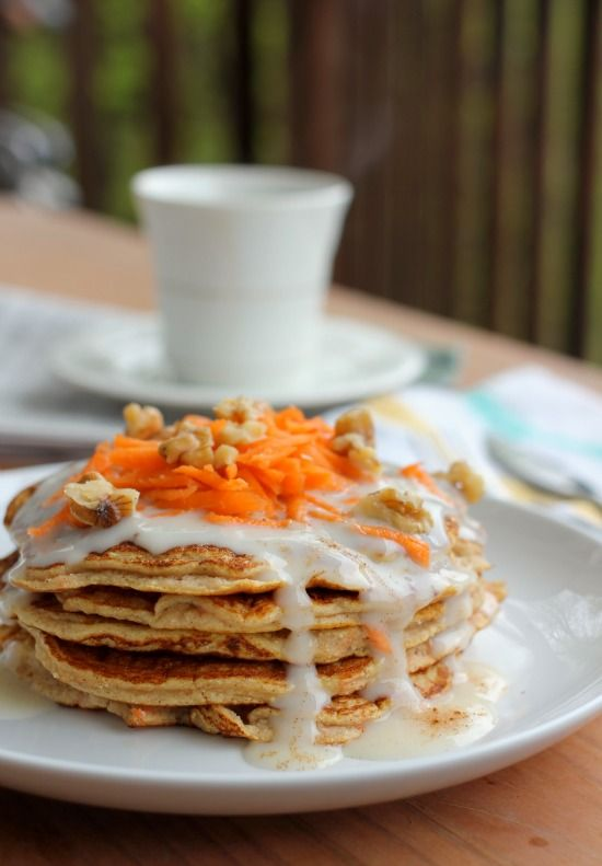 Carrot Cake With Maple Syrup