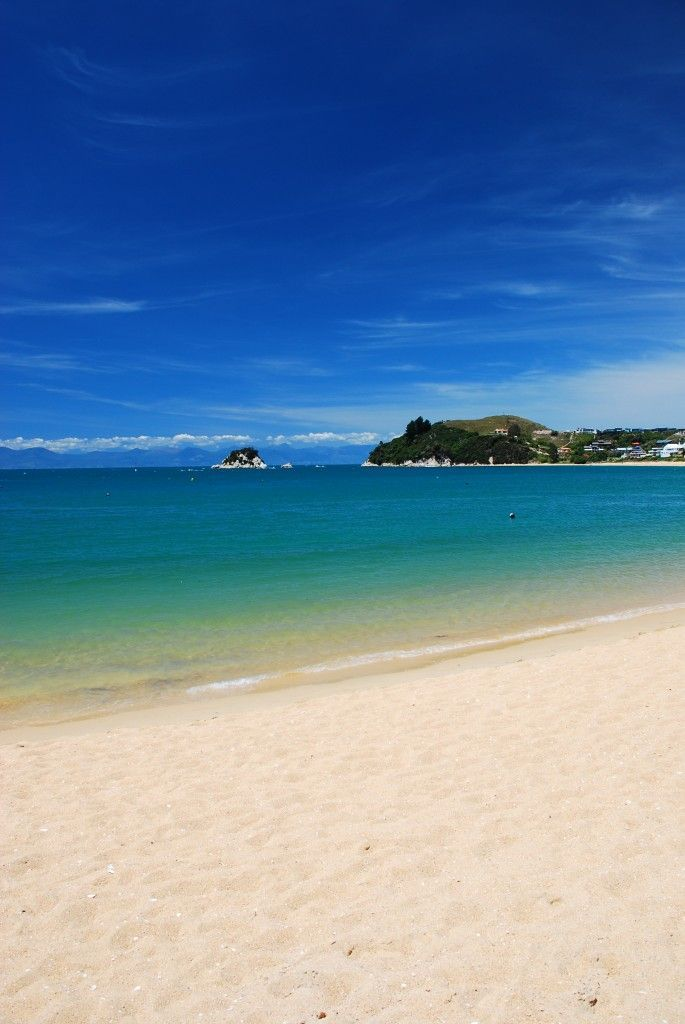 Nelson - Tahunanui Beach, New Zealand
