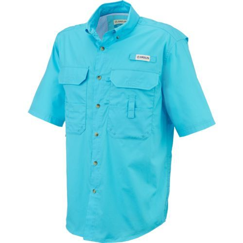Image for magellan outdoors men 39 s lake fork short sleeve for Fishing shirts academy