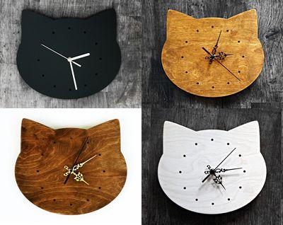 Gatos relojes