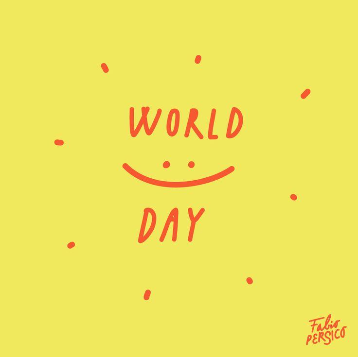 😄✏️🖐🏻Questi sono i miei scarabocchi per il #WorldSmileDay 🖐🏻✏️😄   🎈#giornatamondialedelsorriso #smile #happy #love🎈