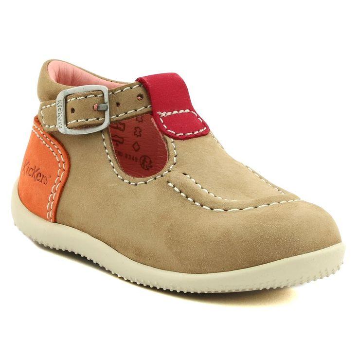 490A KICKERS BONBEK ROSE www.ouistiti.shoes le spécialiste internet #chaussures #bébé, #enfant, #fille, #garcon, #junior et #femme collection printemps été 2017