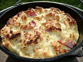 Everyday Dutch Oven: Eggs Benedict Casserole