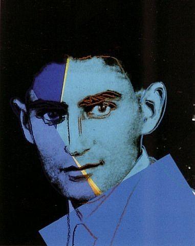 Franz Kafka (03.07.1883) by Andy Warhol. Veja também: http://semioticas1.blogspot.com.br/2011/07/parabolas-de-kafka.html
