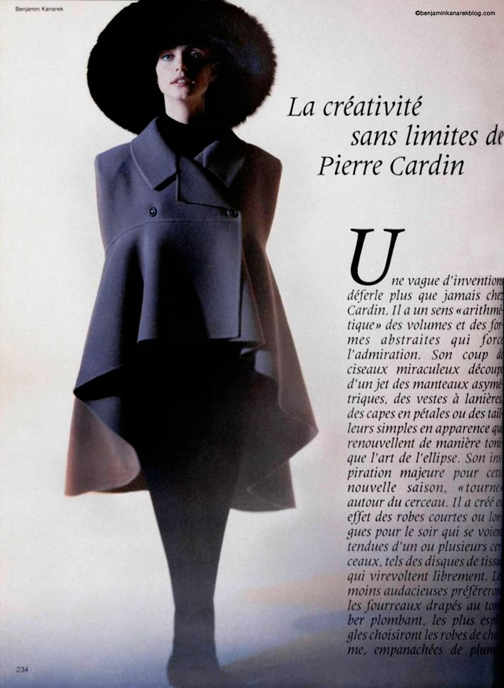 Immortal Pierre Cardin.