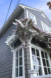76 best images about porches decks on pinterest decks for Window trellis design