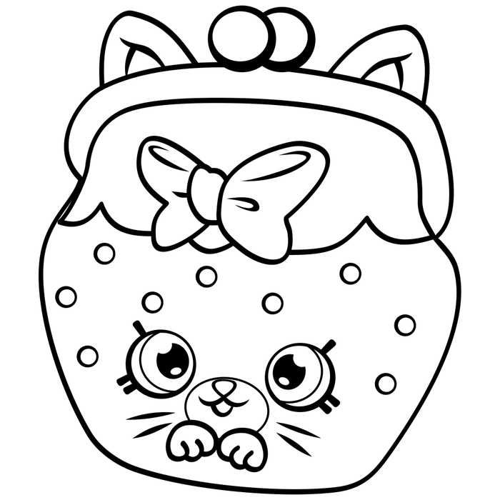 Shopkins Coloring Pages Online Jingle Purse Shopkins Coloring Pages Free  Printable, Shopkins Colouring Pages, Shopkin Coloring Pages