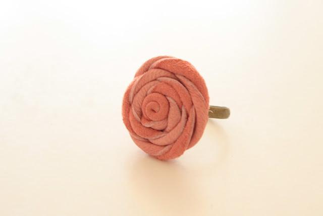 DIY - anillo cuero