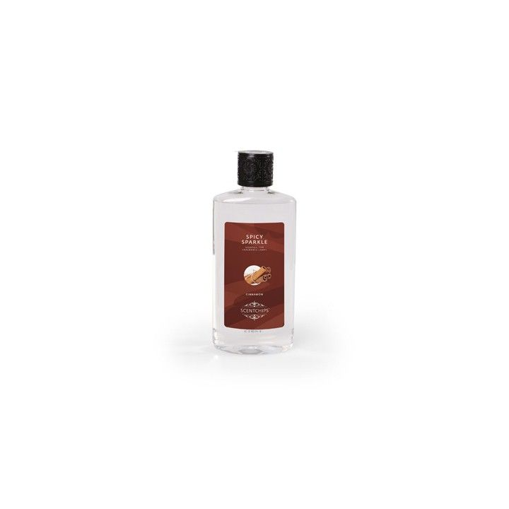 Geurolie Spicy Sparkle - Cinnamon. Geurolie om te gebruiken in een oliebrander van Scentchips. Met deze variant verrijk je elke ruimte in je interieur met de warme geur van kaneel. #intratuin