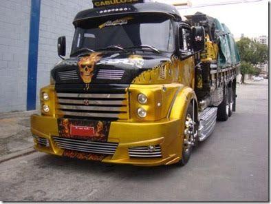 imagens de caminhões boiadeiros tunados | Caminhões Tunados e Personalizados | Carros Tunados e Antigos