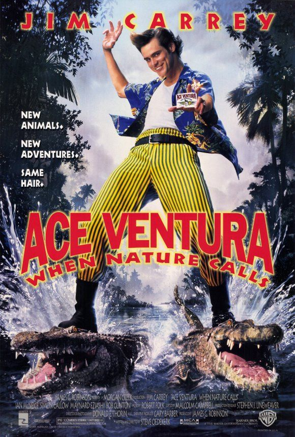 "Ace Ventura, When Nature Calls ""you're balls are showing, bumblebee tuna"" - hhhhhhaaaaaaaa, best line EVER"