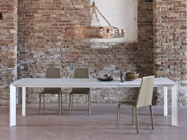 Buy The Genio Extendable Dining Table By Bontempi Casa From Our Designer  Tables Collection At Chaplins   Showcasing The Very Best In Modern Design.