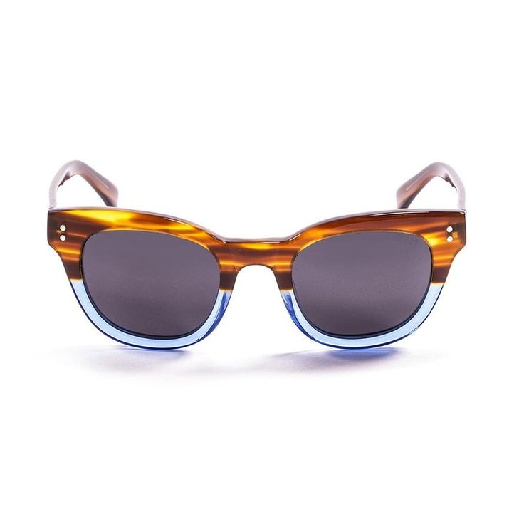 Ocean Sunglasses Unisex Sunglasses Brown