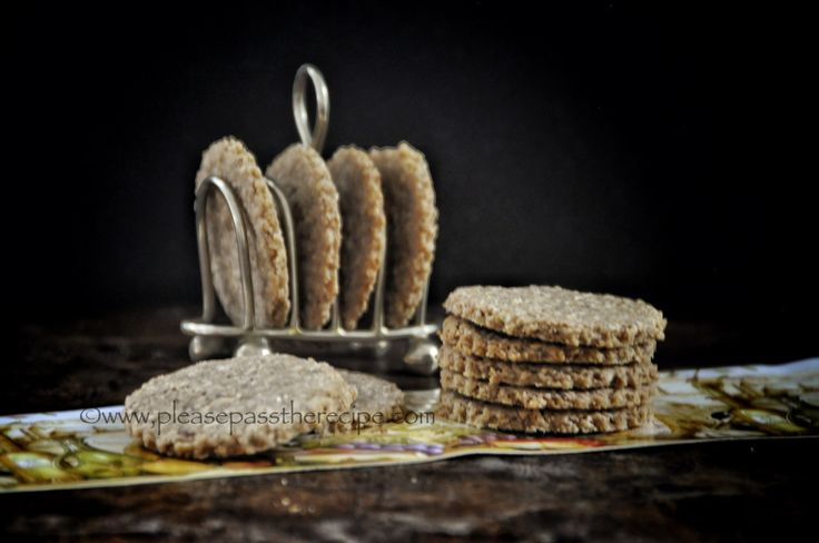 Oat and Walnut Crackers | Please Pass the Recipe