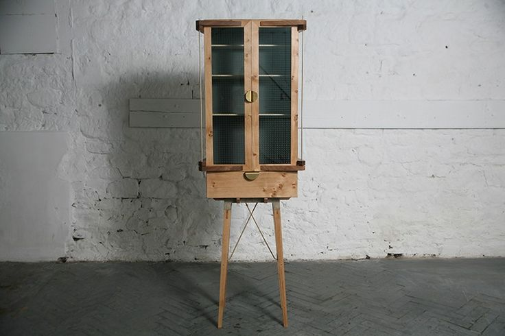 SPAN cabinet by Temer Studio Intricate detailing ensues a delicate sense of balance within the design