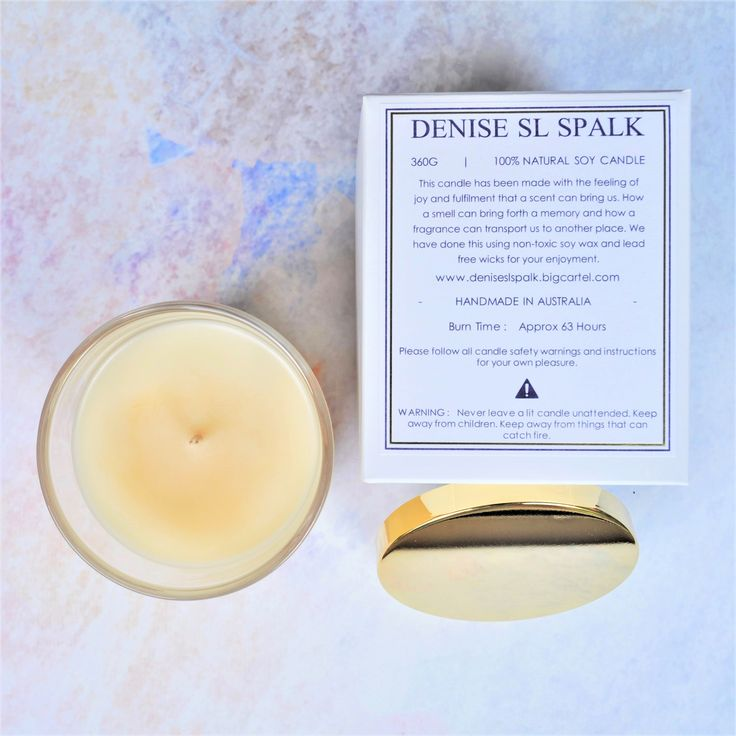 Aromë Soy Candle by Denise SL Spalk