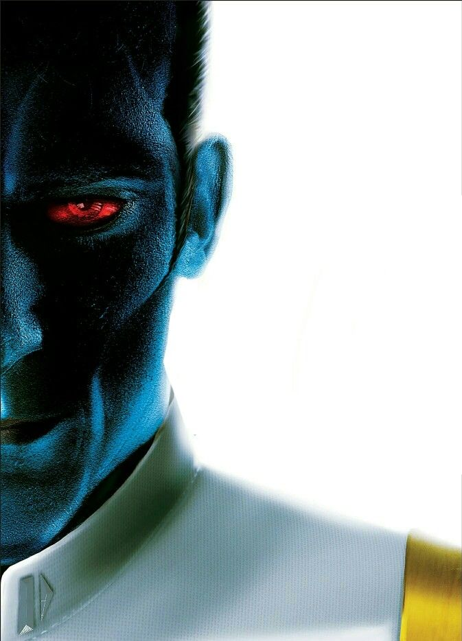 """""""Grand Admiral Thrawn, working hard to keep his Sith Mauraders and Jedi Counsulars away from the other, each with missions in distant parts of the galaxy achieving, Thrawn's mix of chaos and order."""" ~ Narcissus, Part 2"""