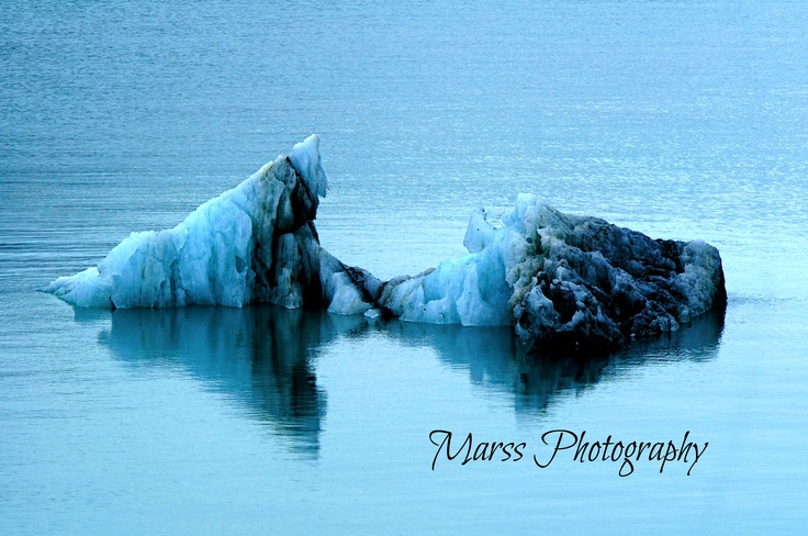 Floating Ice - By Marissa Blott