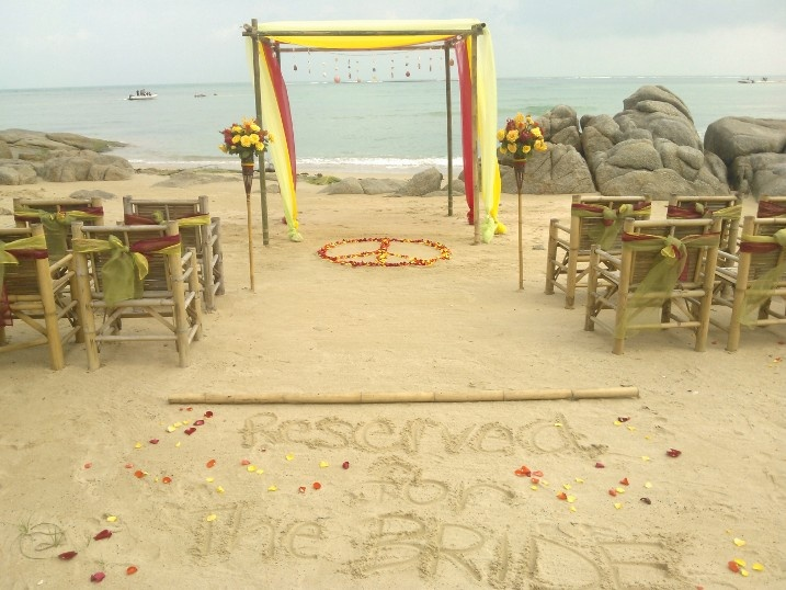 Rasta Wedding, I like the colors incorporated.