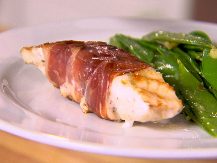Prosciutto Wrapped Cod recipe from Healthy Appetite with Ellie Krieger via Food Network