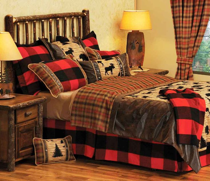Cabin Bedroom Ideas: 17 Best Images About Bedding For Western, Southwestern