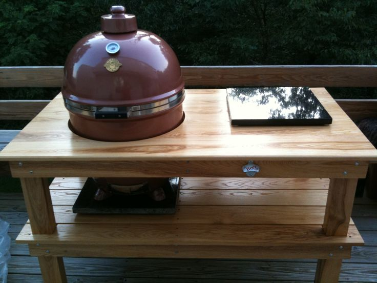 Kamado Joe Table Kamado Table Pinterest Kamado Joe