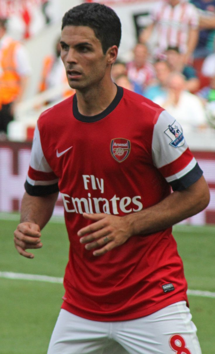 M - is for Mikel Arteta. A fantastic new captain!!!