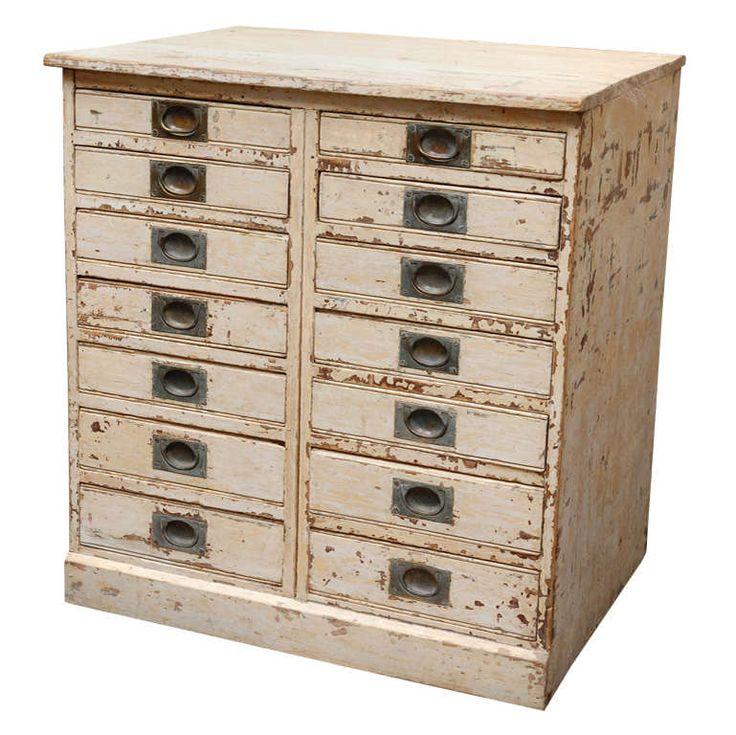 English Collectoru0027s Cabinet Chest, Circa 1860. Chest DrawersSmall ...