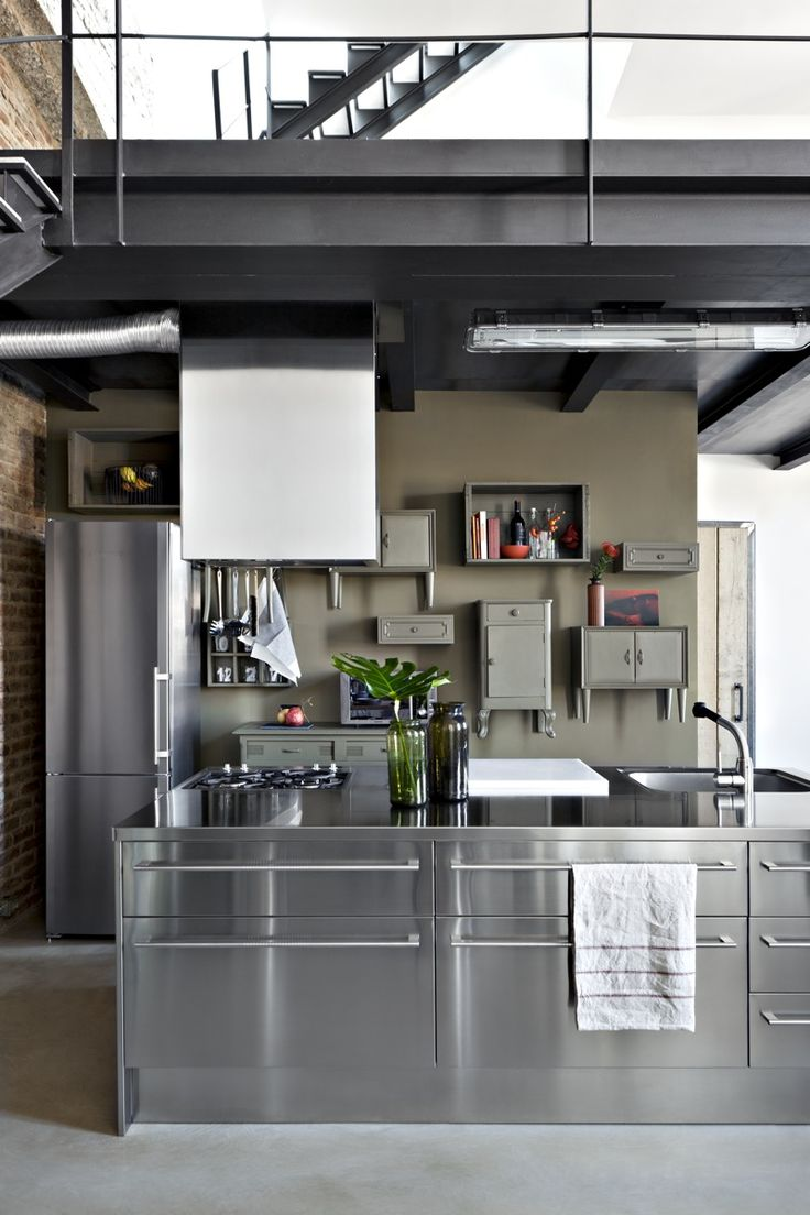 Best 25 Loft Kitchen Ideas On Pinterest Industrial