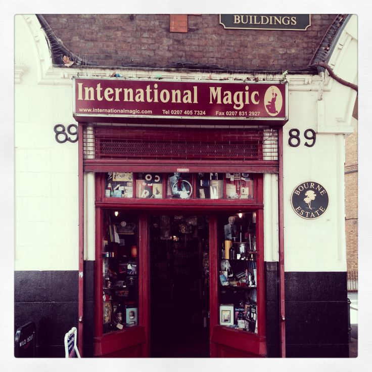 International magic shop. Clerkenwell