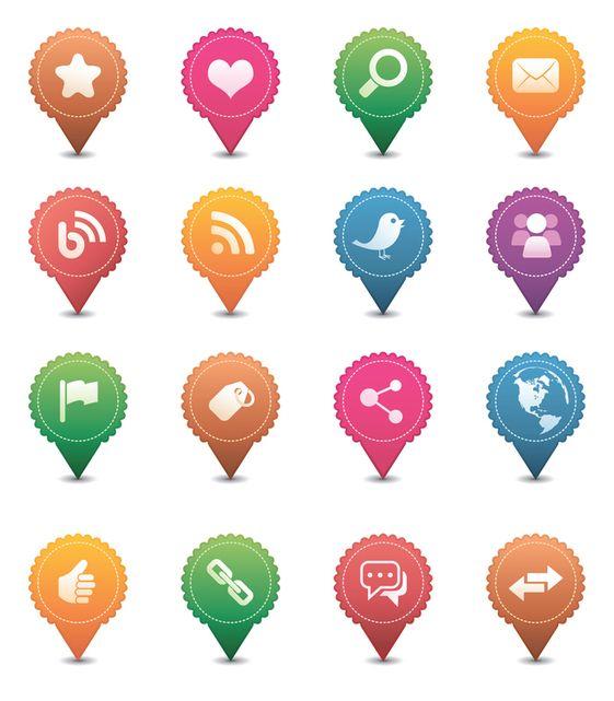 Cómo crear Iconos Personalizados para las Redes Sociales