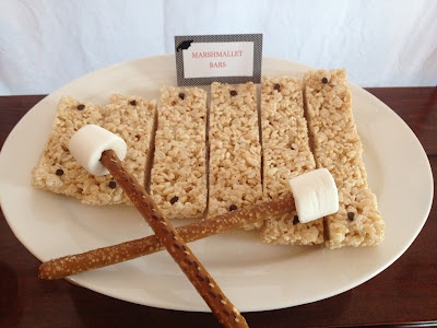 Rice Krispie Xylophone, Music Themed Graduation Party, Lucky Penny Events