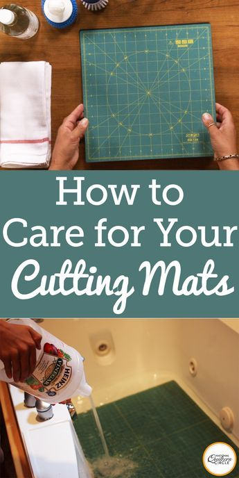 As a quilter, it is important to take proper care of our cutting mats to make sure they stay in their best condition. Quilter Kelly Hanson shares some tips on how to care for your cutting mats, and shows the supplies needed to clean and maintain them. Watch this quick quilting tip to keep your cutting mat in tip top shape.