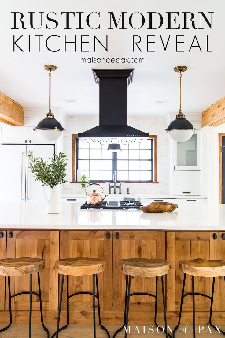 Best Rustic Modern Farmhouse Kitchen Reveal Farmhouse Style 640 x 480