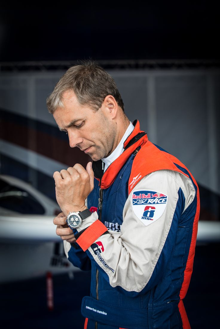 Colt Chronograph - Martin Sonka - Red Bull Air Race - Ascot, UK