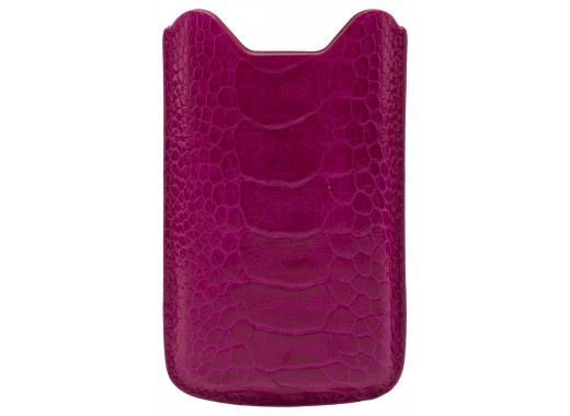 Give every day an electric injection of color with Neri Karra's colorful iphone sleeve. This luxurious case is fully lined in leather and comes with instruction sleeve and a designer presentation box.