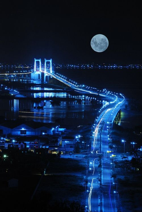 Beautiful Blue Moonscape  Click and like my Facebook page: https://www.facebook.com/SeedingAbundanceNow